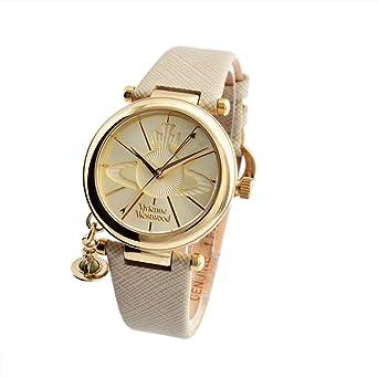 (ヴィヴィアンウエストウッド) 時計 VV006GDCM ORB POP オーブ 腕時計 ウォッチ クリーム/ゴールド/