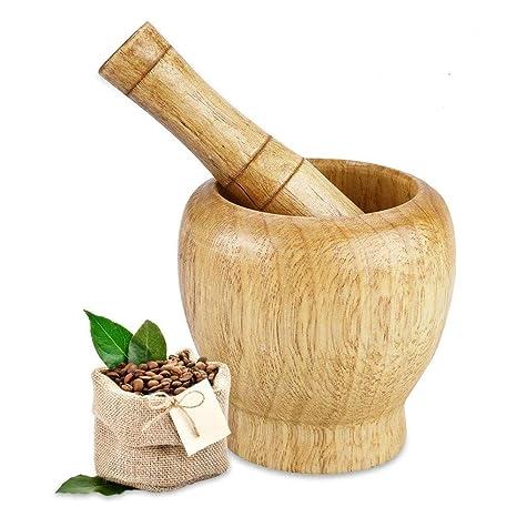 Amazon.com: fdit de madera molino de especias mano Manual ...