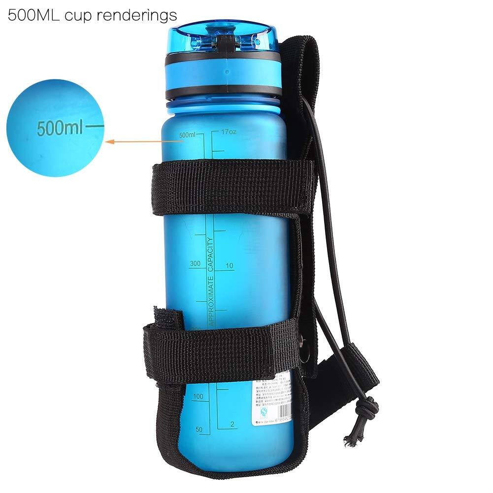 Amazon.com : Balight MOLLE Bottle Carrier Lightweight Outdoor Belt Bottle Holder Universal Adjustable Drink Cup Holder for Walking Running Cycling Hiking ...