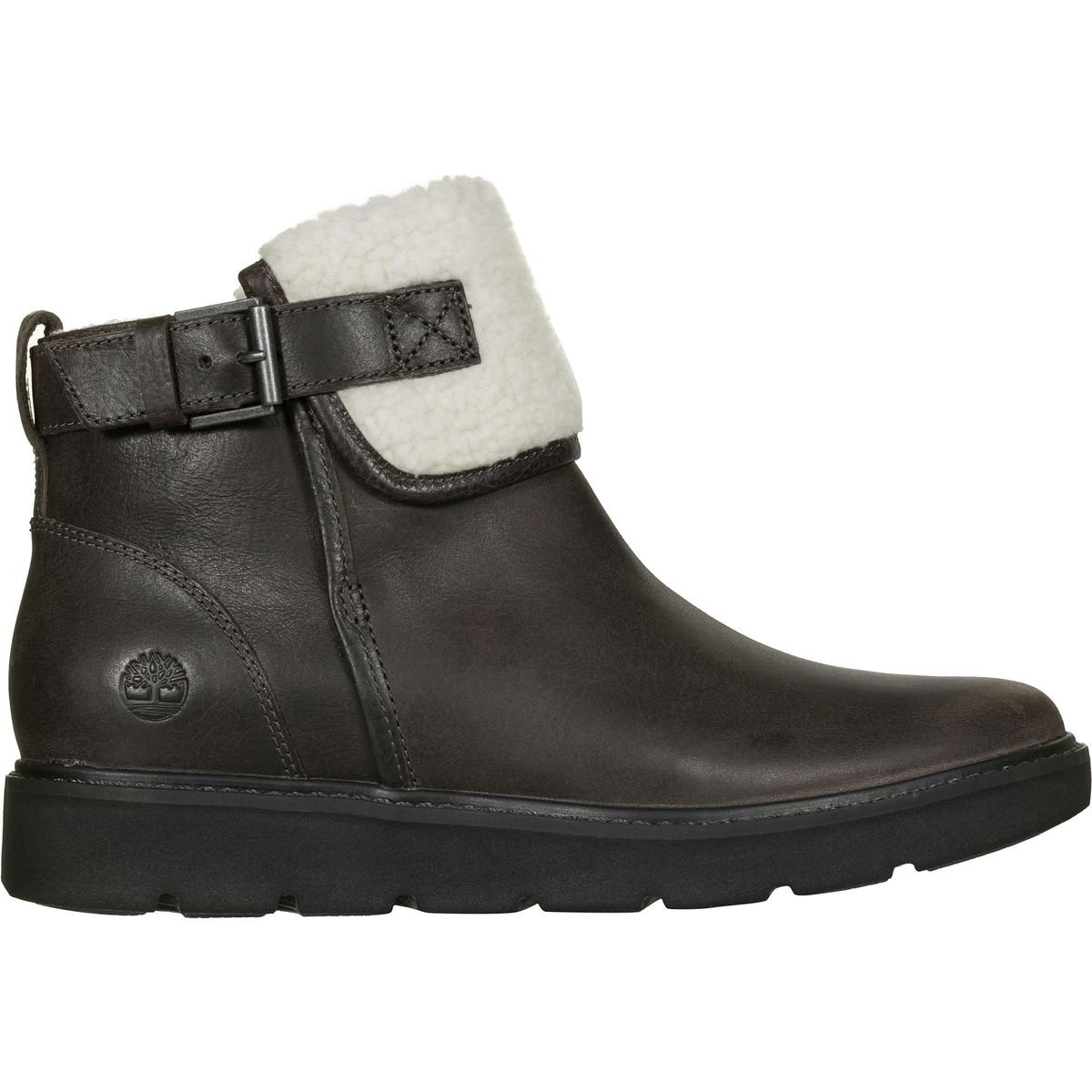 Timberland Women's Kenniston Fleece Lined Boot Dark Grey Full-Grain 9.5 B US