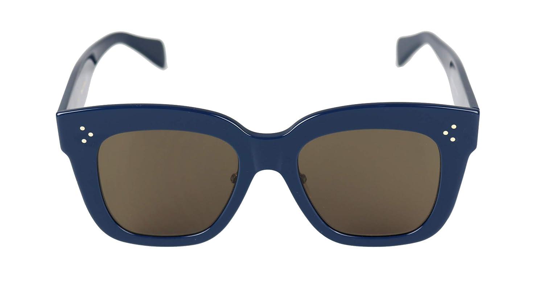 7e1c673a8f1 Celine Kim CL 41444 07G Blue Plastic Square Sunglasses Brown Lens  Home   Amazon.com.au