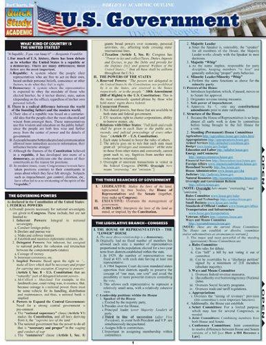 U.S. Government (Quick Study Academic)