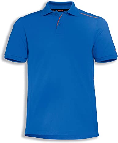 Uvex Suxxeed - Polo de Trabajo para Hombre (Talla S), Color Azul ...