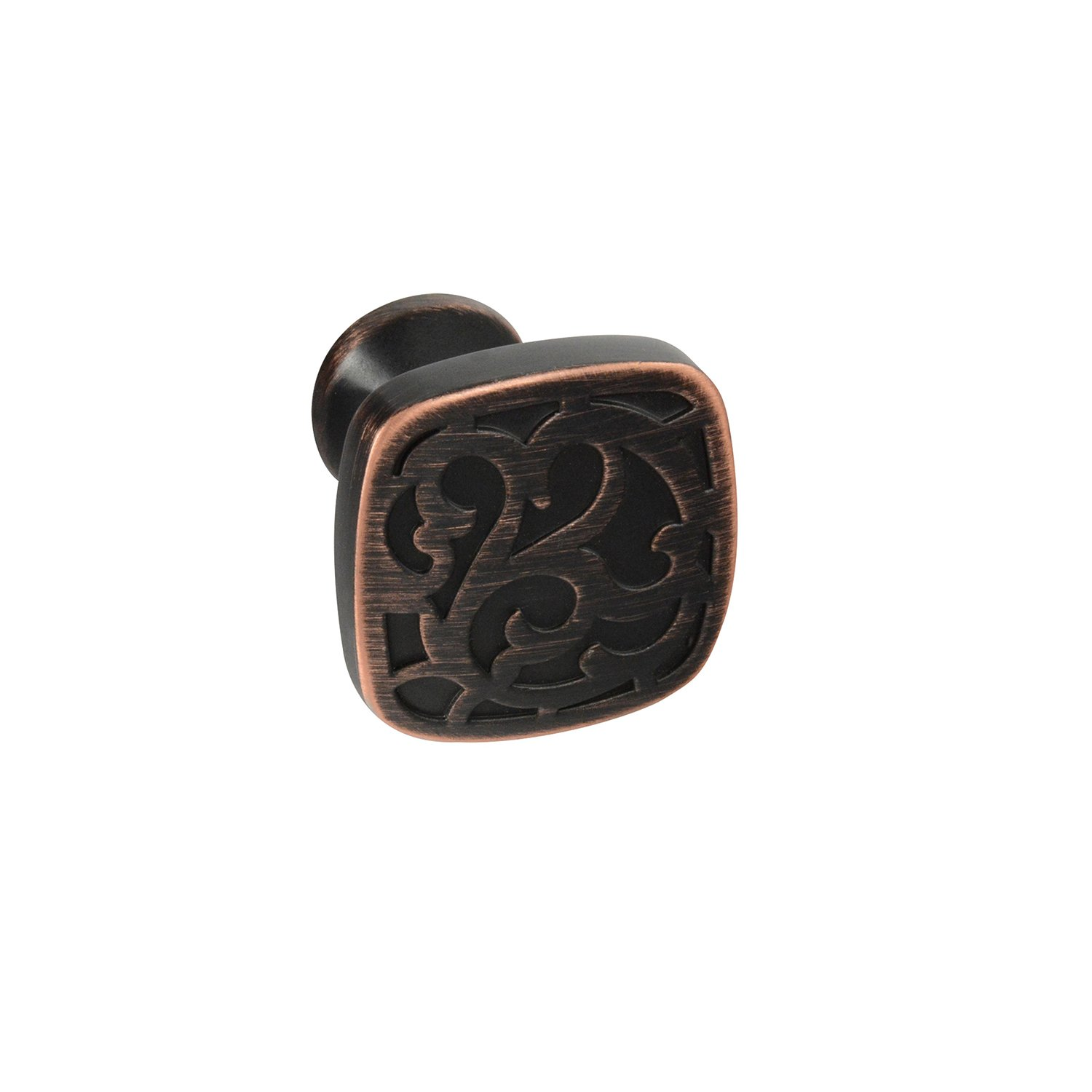 #2874-32 CKP Brand Enhance Collection Knob, Brushed Oil-Rubbed Bronze - 10 Pack
