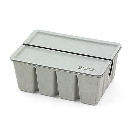 Midori pulpa caja - gris: Amazon.es: Oficina y papelería