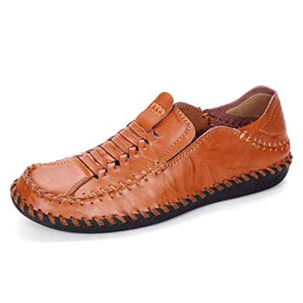 2019 Loafers Mens Penny Loafers para hombre Zapatos Ligeros ...