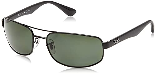 Amazon.com: Ray-Ban RB3445 - Gafas de sol rectangulares de ...