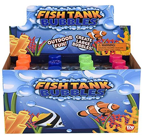5'' FISH TANK BUBBLES, Case of 6