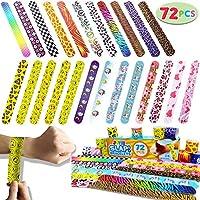 JOYIN Toy 72 PCs Slap Bracelets Valentines Day Party...