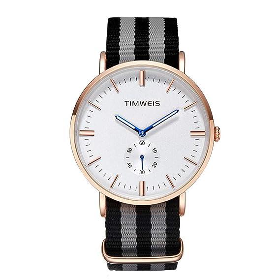 Oli Queen Classic Mujer Hombre Unisex Relojes, pulsera Ultra Fina analógico cuarzo reloj de pulsera