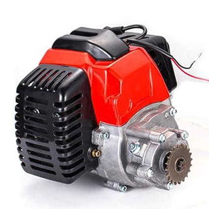 Amazon com: TABODD 49cc 2 Stroke Engine Motor Pull Start