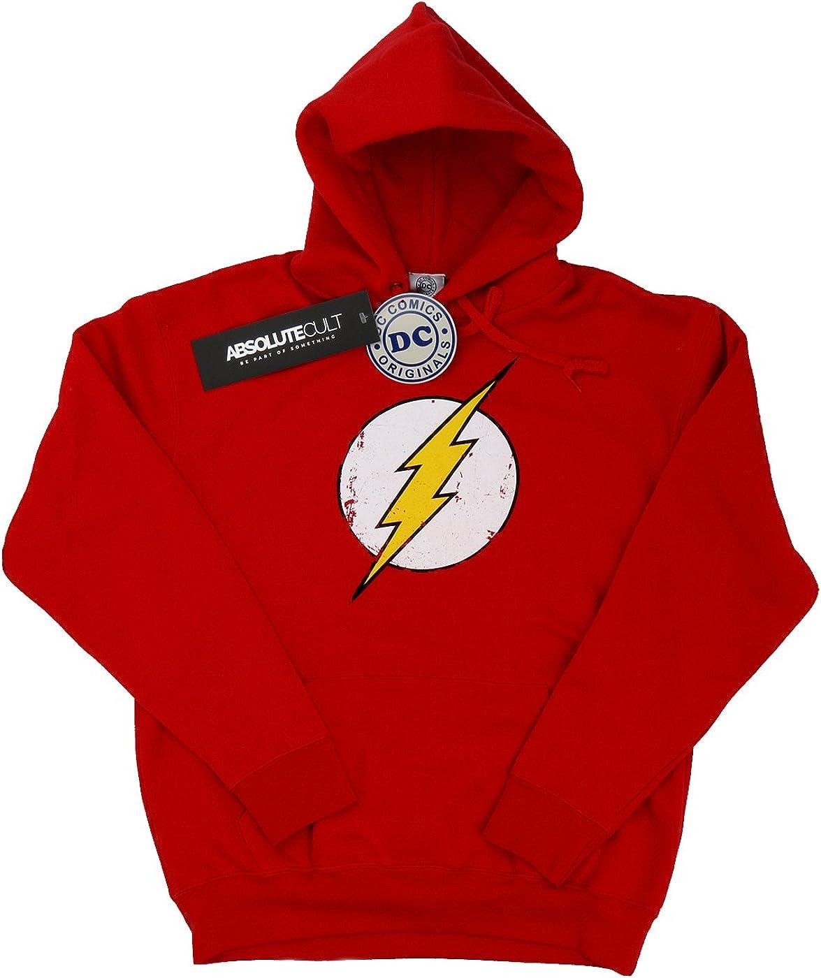 Distressed Logo Sweatshirt DC Comics The Flash