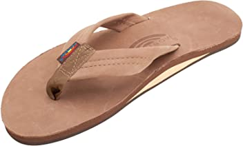 Rainbow Sandals Single Layer Leather w Arch Support f84baaf21aa7