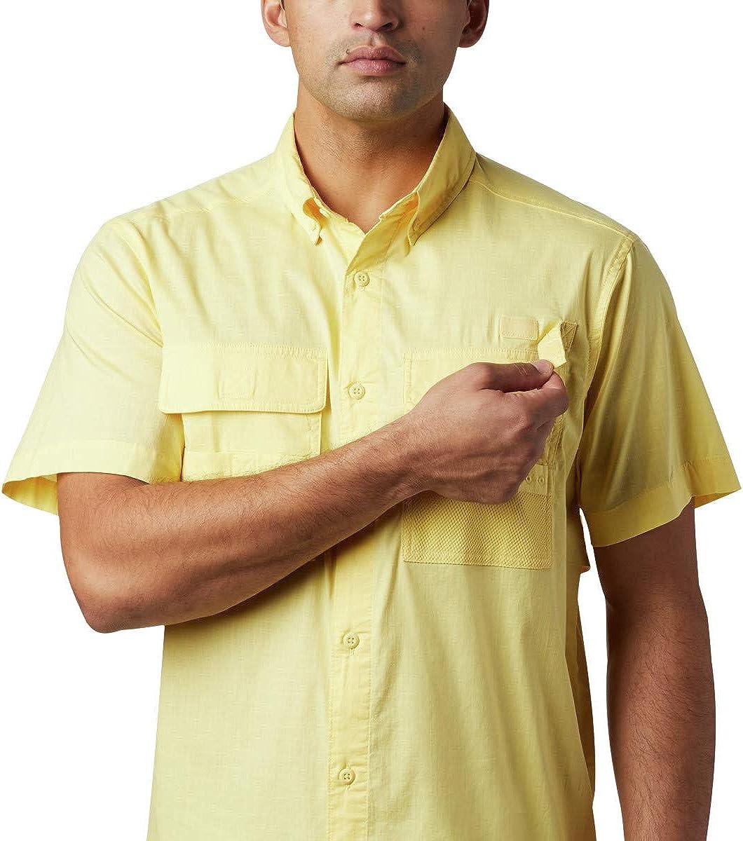 Columbia Mens Half Moon Short Sleeve Shirt