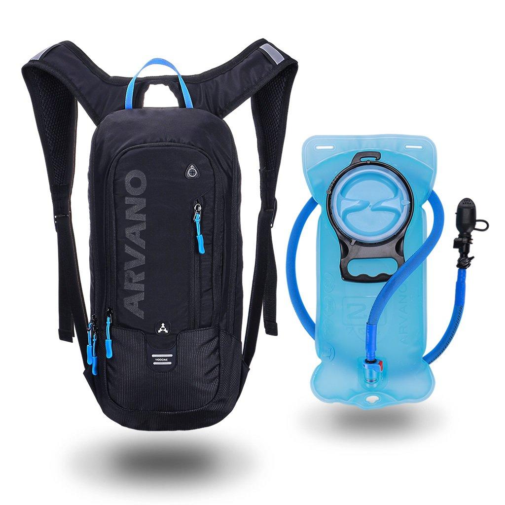 6L Mini Biking Backpack Waterproof, Jarvan Hydration Pack with 2L Backpack Water Bladder Cycling Ski Rucksack Biking Bag,Breathable Shoulder Backpack Lightweight for Outdoor Sport Camping Hiking