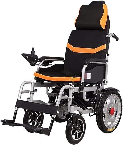 Chaise roulante Pliable Haut Dossier WPOSD avec électrique 4jqc3A5LR