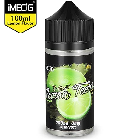 IMECIG 100ml E líquido Lágrima de limón Liquido Vaper Para Cigarros electronicos 70/30 E