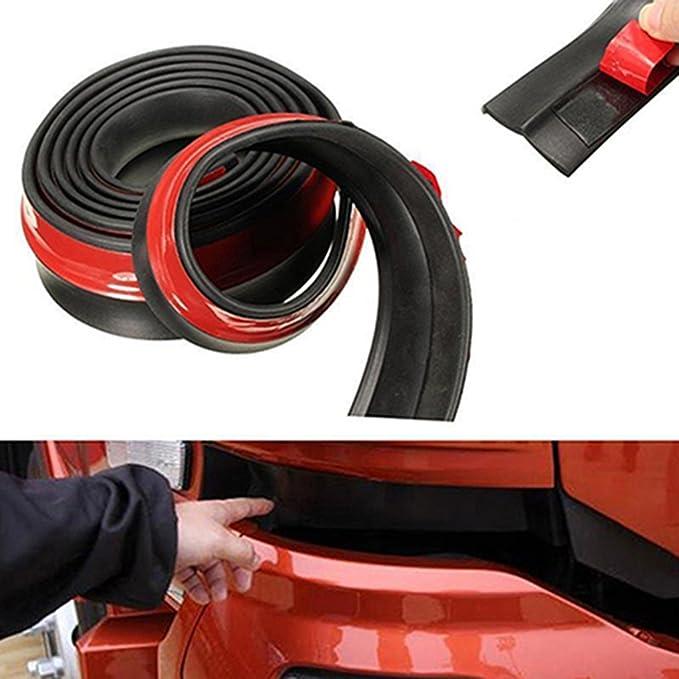 1 opinioni per Gemini_mall®, paraurti anteriore per auto, 248,9cm gomma paraurti anteriore,