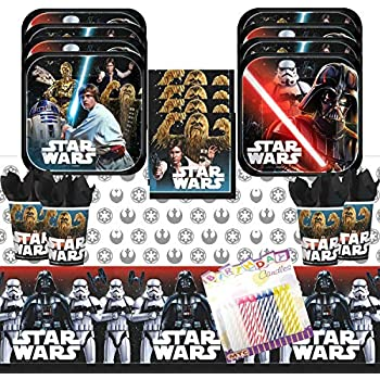 Amazon.com: star wars Classic platos de papel para fiesta y ...