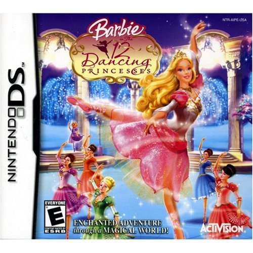 12 Dance Princesses Dancing - Barbie: 12 Dancing Princesses - Nintendo DS