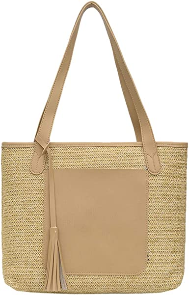 Round Rattan Bag Female Straw Beach Bag Holiday Bag Shoulder Diagonal Bag