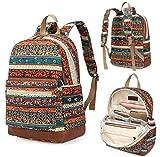 Kenox Girl's School Rucksack College Bookbag Lady Travel Backpack 14Inch Laptop Bag