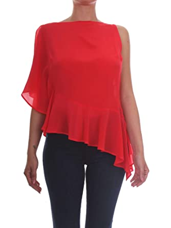 46 Amazon 3177pir68 Clothing Top Women Palanzano Pinko uk co Red BWwYX1FTYP