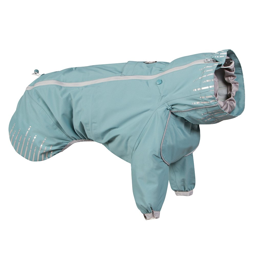 Hurtta Rain Blocker, Dog Raincoat, Stream, 28 in