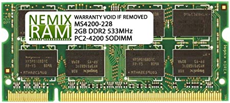 PC2-4200 2GB DDR2-533 RAM Memory Upgrade for The Sony VAIO VGN SZ230