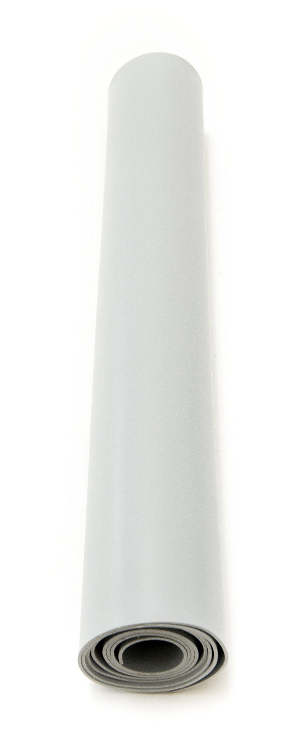 Bertech ESD Mat Roll, 2' Wide x 20' Long x 0.093'' Thick, Gray (Made in USA) by Bertech (Image #2)