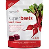 HumanN SuperBeets Heart Chews   Grape Seed Extract and Non-GMO Beet Powder Helps Support Healthy Circulation, Blood Pressure,