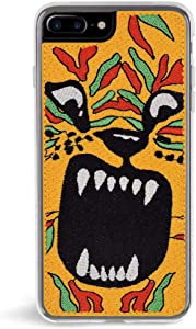 Zero Gravity iPhone 7 Plus/8 Plus Tiger Phone Case - Animal Embroidery - 360° Protection, Drop Test Approved