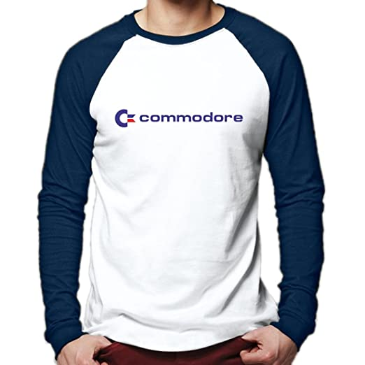 Commodore Baseball Shirt for Adults, 3 Colours, S to XXL
