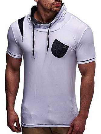 de41b1270787 LEIF NELSON Herren T-Shirt LN145  Amazon.de  Bekleidung