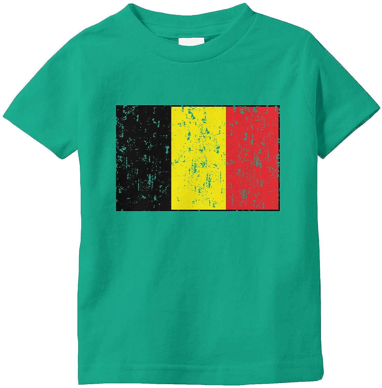 Amdesco Belgium Flag Belgian Infant T-Shirt