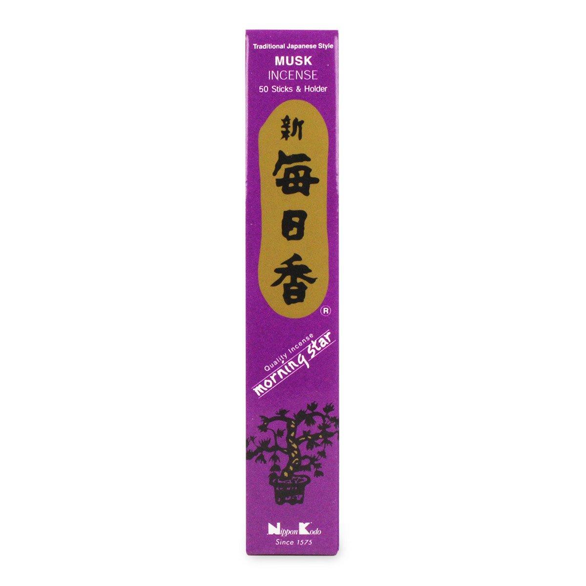 Morning StarムスクIncense (50 Sticks) B0006MX9F0