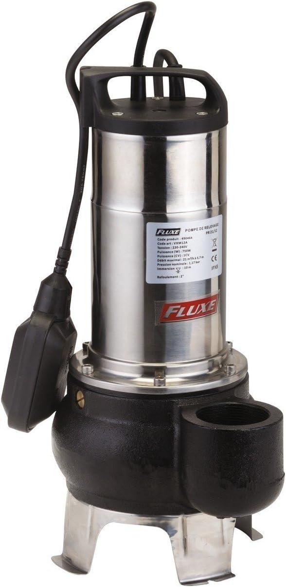 Puissance 750 W Pompe de relevage PR21//12 Fluxe
