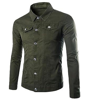 ddf974d830807 Nanquan-men clothes NQ Mens Stylish Long Sleeve Solid Ripped Pocket ...