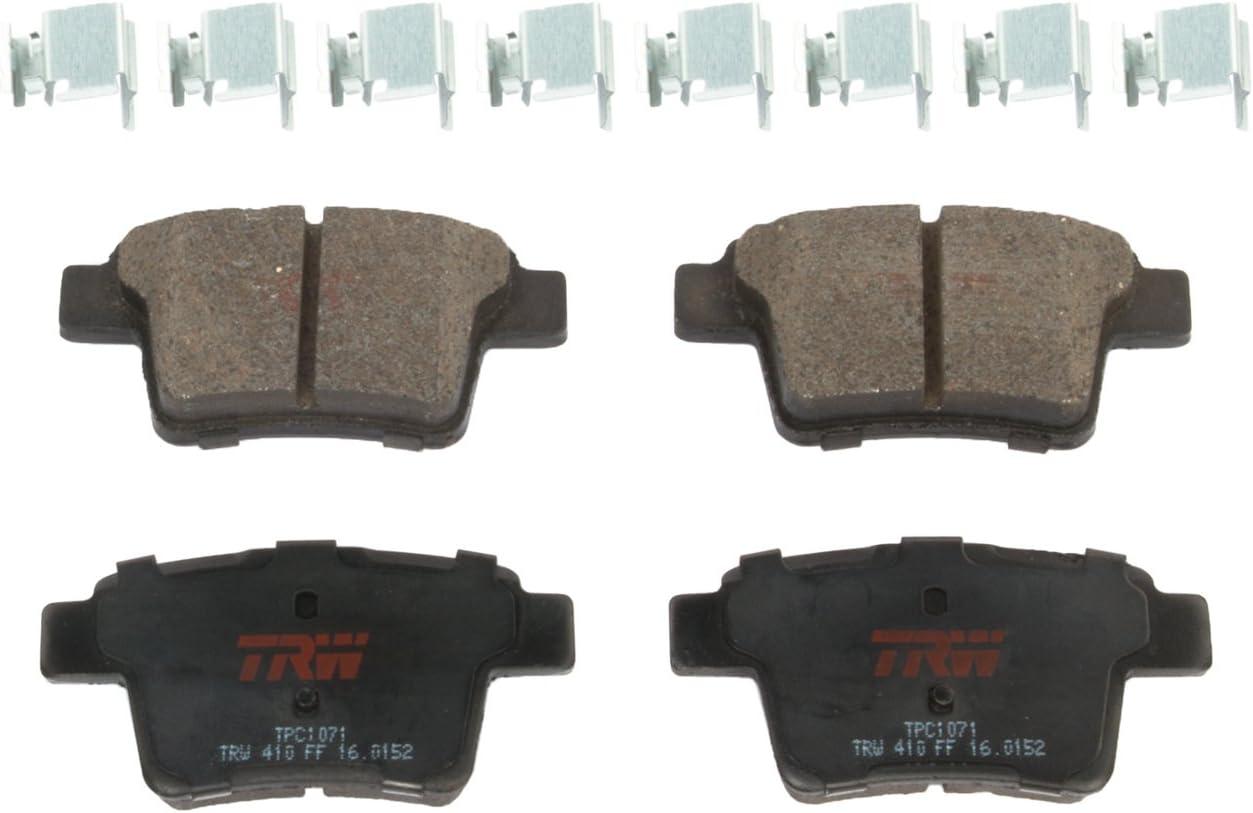 TRW TPC0919 Premium Ceramic Rear Disc Brake Pad Set TRW Automotive