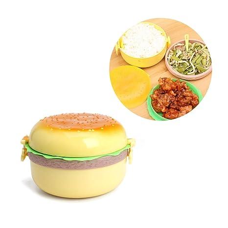 Amazoncom Stilot Children Plastic Hamburger Lunch Box Lunchbox
