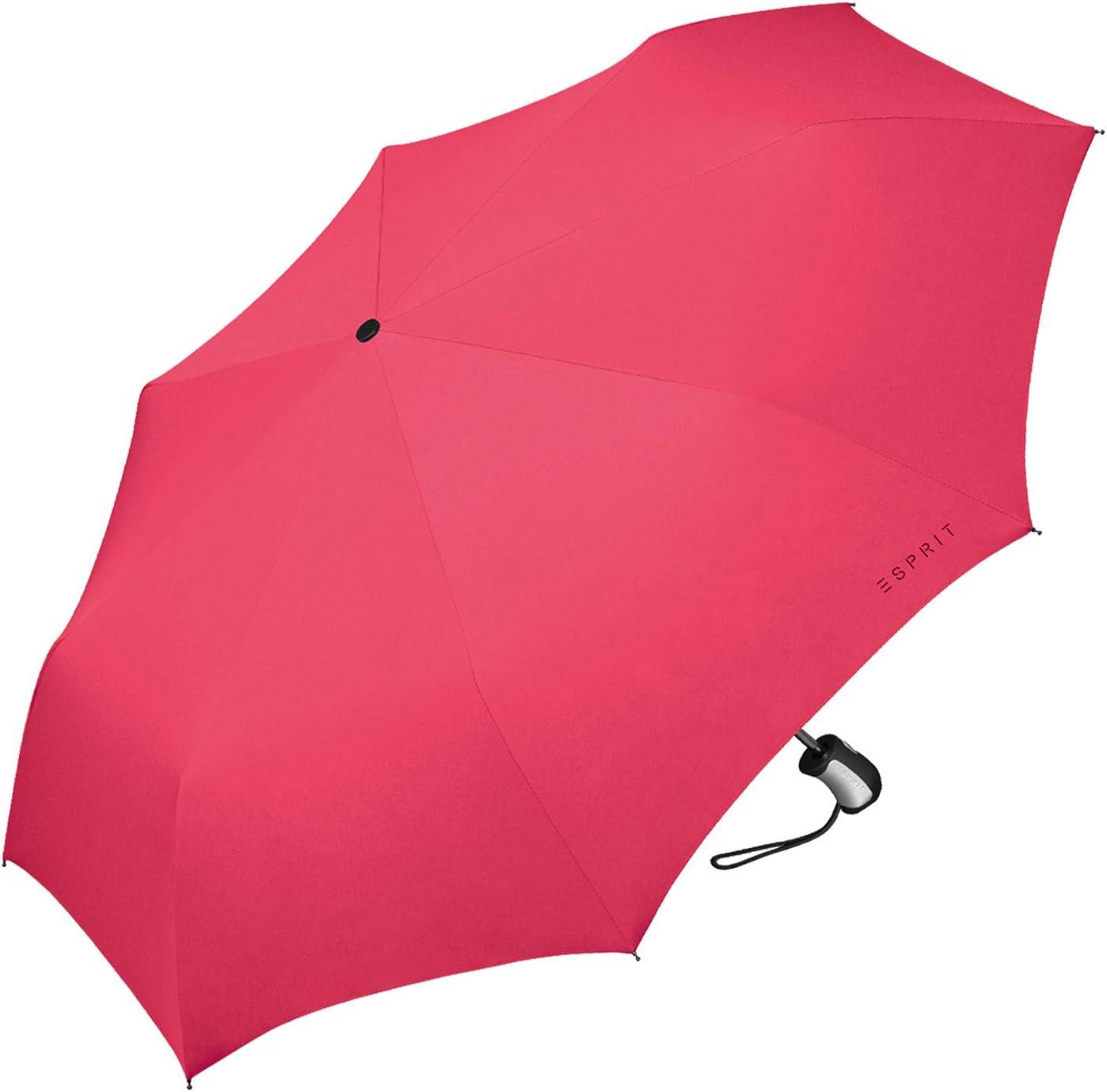 Gris - . Parapluie de poche Esprit Easymatic 3 Excalibur