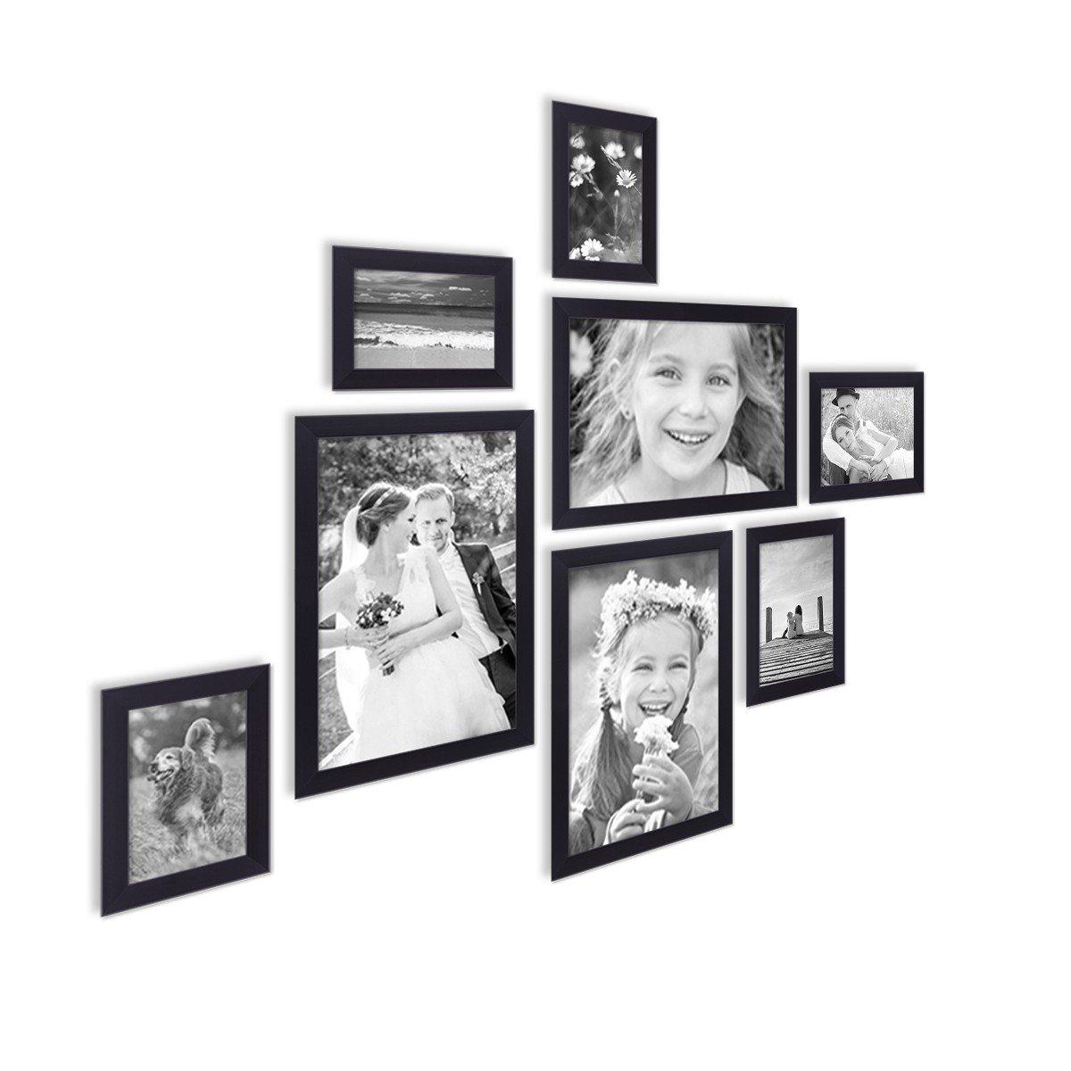 Cadre photo 28 Photos Cadre Photo Galerie Photos Cadre Bois Collage Noir 10x15cm
