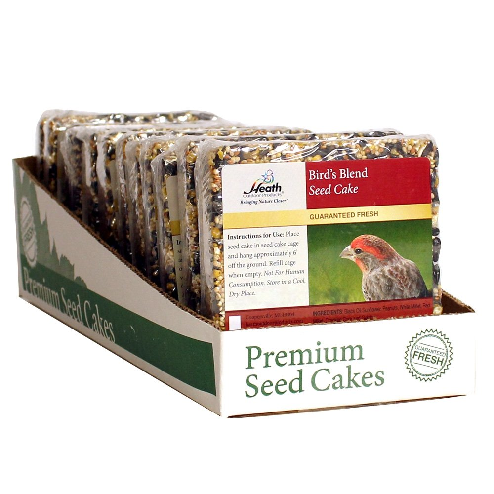 Heath Outdoor Products SC-21 7-Ounce Birds Blend Seed Cake, 12-Pack by Heath Outdoor Products