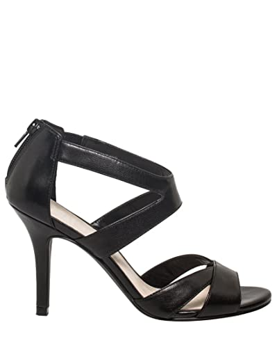 8efb57d966bdd Amazon.com | LE CHÂTEAU Leather Strappy Sandal | Heeled Sandals