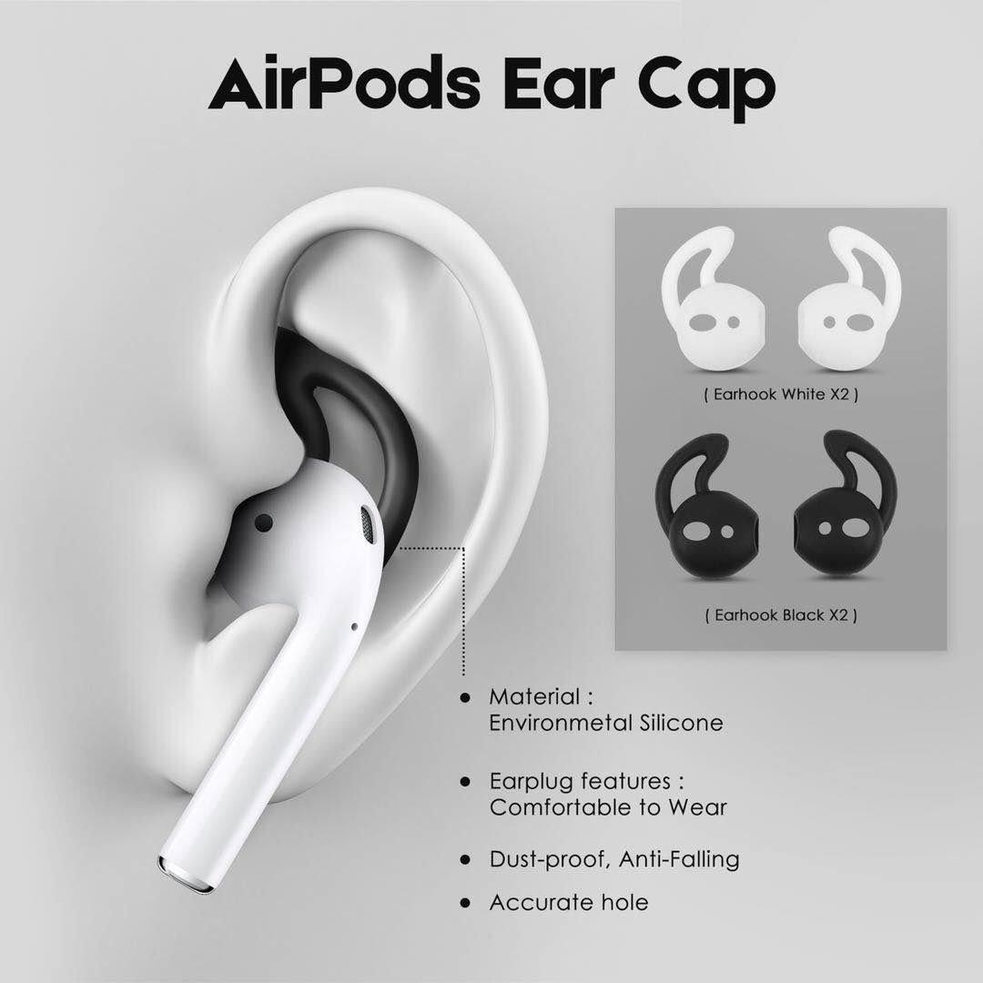 Derhom Apple Airpods Funda de Silicona Airpods Accessories P/úrpura