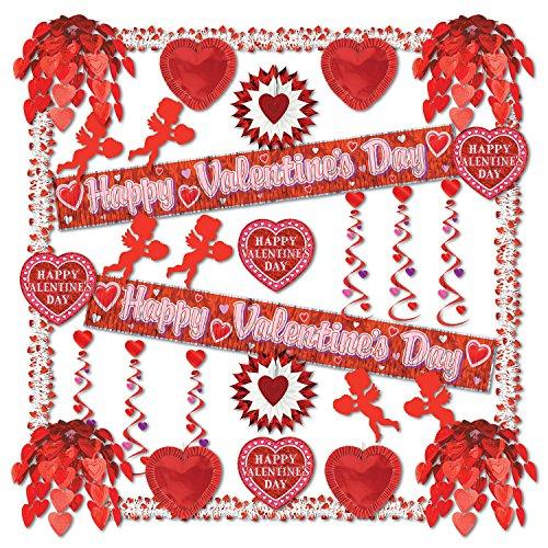 (Beistle 77169 32-Piece Valentine Reflections Decorating Kit)