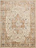 A2Z Rug Beige 10′ x 13′ FT St. Martin Collection Area rug – Vintage Inspired Overdyed Perfect for Living Dinning Room and Bedroom Rugs, Interior Modern Floor Carpet Design Review