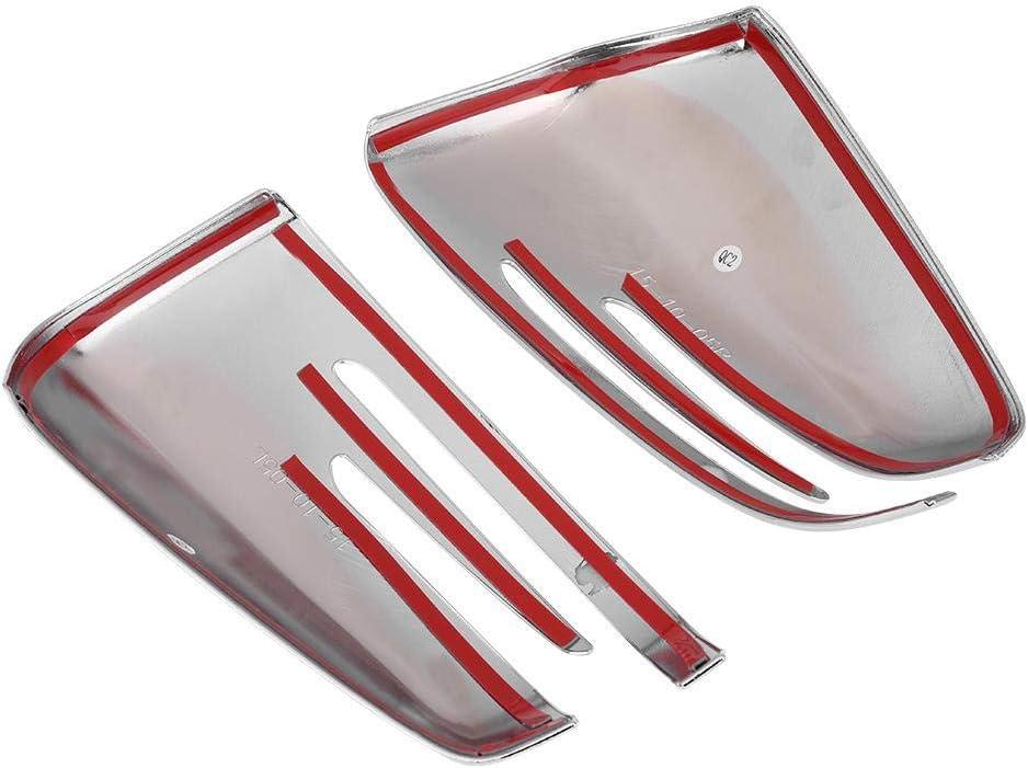 kratzfest. 2 St/ück Seitenspiegel-Abdeckung f/ür GLA CLA X156 C117 W212 W204 Abdeckung f/ür R/ückspiegel aus ABS