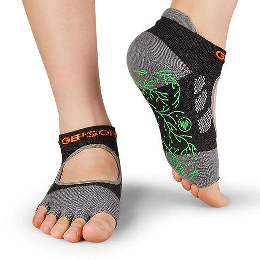 Calcetines de yoga Calcetines Antideslizantes Profesionales ...