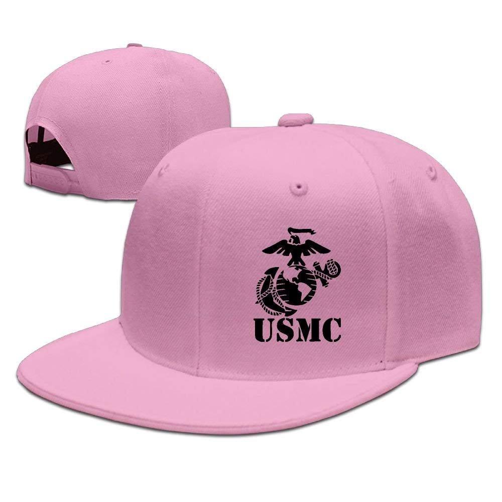 2f6bf14ad14e3d Amazon.com: Adjustable Baseball Caps Trucker Hat Unisex Men Women Eagle  Globe Anchor USMC Marine Corps: Clothing